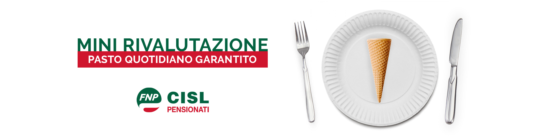 mini rivalutazione - pasto quotidiano garantito